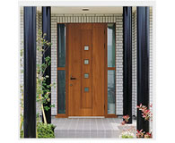 玄関ドア width=